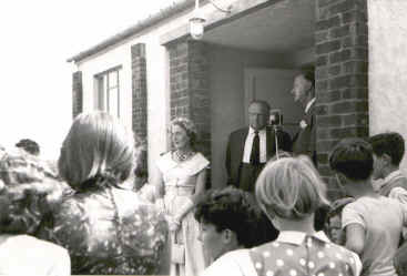 Village Hall Opening
