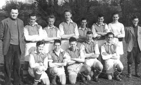 Barnston Football Team 1951